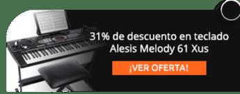 31% de descuento en teclado Alesis Melody 61 Xus -  Music Head Store