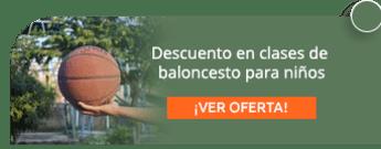 Descuento en clases de baloncesto para niños - Club de Baloncesto Bogotá