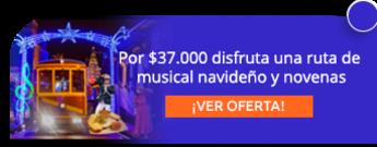 Por $37.000 disfruta una ruta de musical navideño y novena de aguinaldos - Tranvía de Bogotá