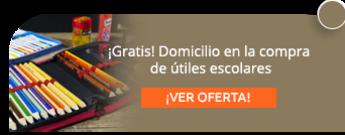 ¡Gratis! Domicilio en la compra de útiles escolares - Alfa y Omega