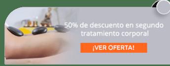 50% de descuento en segundo tratamiento corporal - Aguamarina Estética Spa