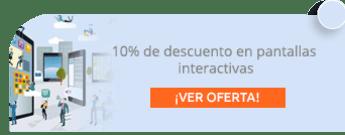 10% de descuento en pantallas interactivas - NissiTec