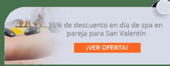 35% de descuento en día de spa en pareja para San Valentín - Spa Natural Gutty