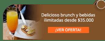 Delicioso brunch y bebidas ilimitadas desde $35.000 - Café Usaquén - El Vino y Yo