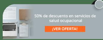 50% de descuento en servicios de salud ocupacional - Proyectamos Consultores en Salud SAS