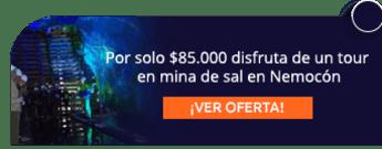 Por solo $85.000 disfruta de un tour en mina de sal en Nemocón - Tatú Tours Colombia