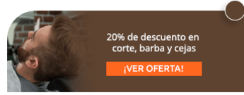 20% de descuento en corte, barba y cejas - Perfect Barber Shop