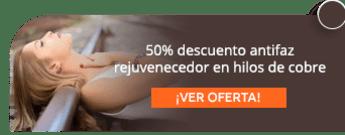 50% descuento antifaz rejuvenecedor en hilos de cobre - Cobretex S.A.S
