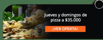 Jueves y domingos de pizza a $35.000 - Circo Terraza Salitre