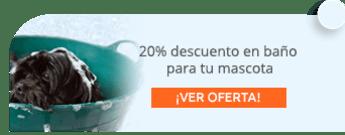 20% descuento en baño para tu mascota - Blue Pet Shoppe
