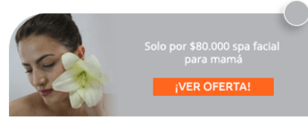 Solo por $80.000 spa facial para mamá - Natural & Spa