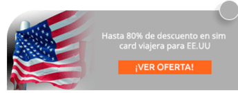 Hasta 80% de descuento en sim card viajera para EE.UU - Mi Simcard