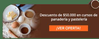 Descuento de $50.000 en cursos de panadería y pastelería - Productos Alianza Ltda.