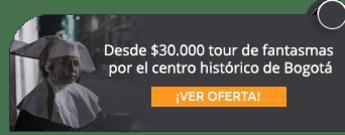 Desde $30.000 tour de fantasmas por el centro histórico de Bogotá - AE Colombia Travel