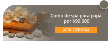 Plan de spa para papá por $90.000 - Chamarel Spa