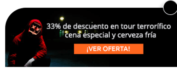 33% de descuento en tour terrorífico + cena especial y cerveza fría - AE Colombia Travel