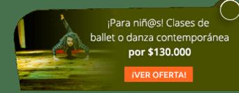 ¡Para niñ@s! Clases de ballet o danza contemporánea por $130.000 - Ballet CorpoArt