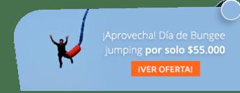 ¡Aprovecha! Día de Bungee jumping por solo $55.000 - Aventura Extrema