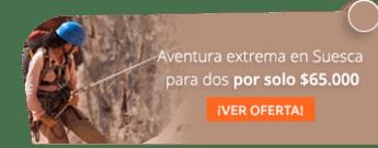 Aventura extrema en Suesca para dos por solo $65.000 - Aventura Extrema
