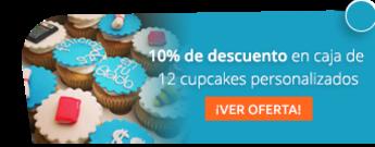 12 deliciosos cupcakes personalizados por $58.500 - Madame Cupcakes
