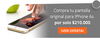 Compra tu pantalla original para IPhone 6s por solo $210.000 - Celular Lab