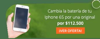 Cambia la batería de tu Iphone 6S por una original por $112.500 - Celular Lab