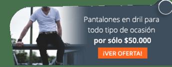 Pantalones en dril para todo tipo de ocasión por sólo $50.000 - Maria Eugenia Tienda De Modas