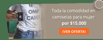 Toda la comodidad en camisetas para mujer por $15.000 - Maria Eugenia Tienda De Modas