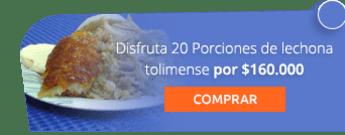 Disfruta 20 Porciones de lechona tolimense por $160.000 - Banquetes Lechonería la Fonda  Tolimense