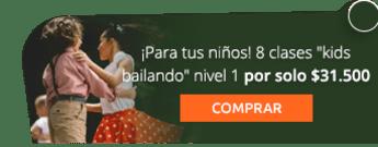 """¡Para tus niños! 8 clases """"kids bailando"""" nivel 1 por solo $31.500 - Monserrate Club Baile Deportivo"""