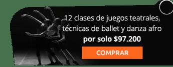 12 clases de juegos teatrales, técnicas de ballet y danza afro por solo $97.200 - Monserrate Club de baile deportivo