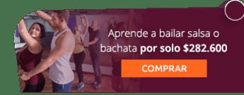 Aprende a bailar salsa o bachata por solo $282.600 - Pass 2 Dance