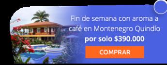 Fin de semana con aroma a café en Montenegro Quindío por solo $390.000 - De Kaminata