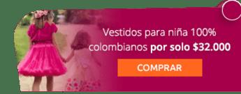 Vestidos para niña 100% colombianos por solo $32.000 - Anmah