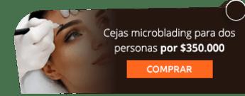 Cejas microblading para dos personas por $350.000 - Fisioestética Spa