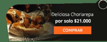 Deliciosa Choriarepa por solo $21.000 - La Food Hose