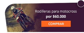 Rodilleras para motocross por $60.000 - AC Sports