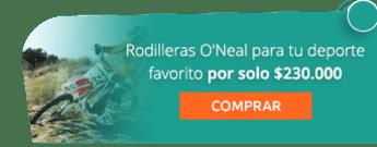 Rodilleras O'Neal para tu deporte favorito por solo $230.000 - Ac Sports
