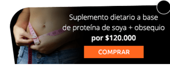 Suplemento dietario a base de proteína de soya + obsequio por $120.000 - Fisioestetic Spa