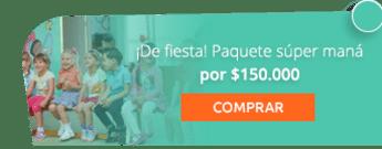 ¡De fiesta! Paquete súper maná por $150.000 - Fiestas Y Recreación