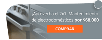 ¡Aprovecha el 2x1! Mantenimiento de electrodomésticos por $68.000 - Soporte Técnico Profesional