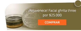 ¡Rejuvenece! Facial ghrita three por $25.000 -  Sufí Herbal Cosmetics