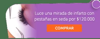 Luce una mirada de infarto con pestañas en seda por $120.000 -  Centro de Estética y Spa Viviana Melo