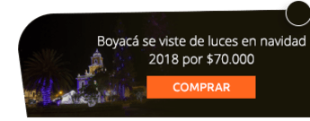 Boyacá se viste de luces en navidad 2018 por $70.000
