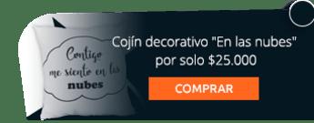 """Cojín decorativo """"En las nubes"""" por solo $25.000"""