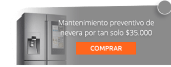 Mantenimiento preventivo de nevera por tan solo $35.000
