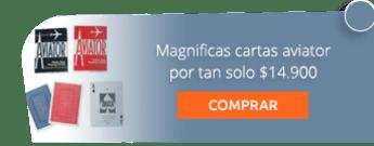 Magnificas cartas aviator por tan solo $14.900 - Crea Magia.com