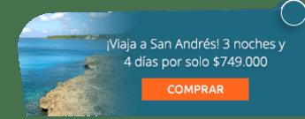 ¡Viaja a San Andrés! 3 noches y 4 días por solo $749.000 - Amazonikos Viajes y Turismo
