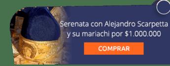 Serenata con Alejandro Scarpetta y su mariachi por $1.000.000 - Alejandro Scarpetta y su Mariachi