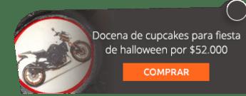 Docena de cupcakes para fiesta de halloween por $52.000 - Madame Cupcakes